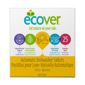 Natural Automatic Dishwasher Tabs Citrus Scent 25 Tabs 17.6 oz (0.5 kg), Ecover