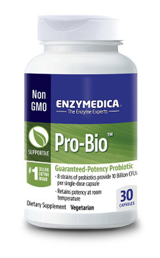 Pro Bio Guaranteed Potency Probiotic 30 Caps, Enzymedica
