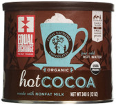 Organic & Fairly Traded Hot Cocoa 12 oz (340 g), Equal Exchange