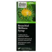 Rapid Relief Bronchial Wellness Herbal Syrup 5.4 oz (160 ml), Gaia Herbs