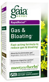 Gas & Bloating 50 Veggie Caps, Gaia Herbs