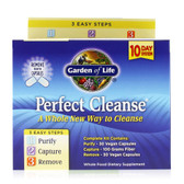 Perfect Cleanse 3 Easy Steps Kit, Garden of Life