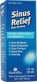 Sinus Relief 1 oz, Natra Bio, Nasal Congestion, Sinus Headache