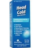 Head Cold Relief 1 oz Natra Bio, Sore Throat, Headache