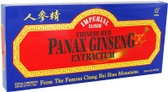 Chinese Red Panax Ginseng Extractum 10 Bottles 0.34 oz (10 ml) Each, GINCO International ( Ginseng Company)