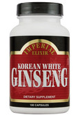 Korean White Ginseng 100 Caps, GINCO International ( Ginseng Company)