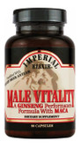 Male Vitality A Ginseng Performance Formula with Maca 90 Caps, GINCO International ( Ginseng Company)