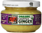 Organic Chopped Ginger 4.5 oz (127 g), Great Eastern Sun
