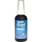 Sore Throat Spray 4 oz Natra Bio, Hoarseness, Laryngitis