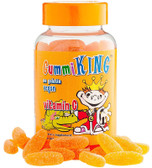 Vitamin C for Kids Natural Orange Flavor 60 Gummies, Gummi King