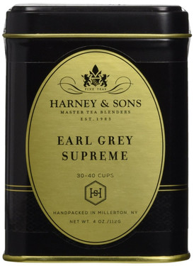 Earl Grey Supreme Tea 4oz, Harney & Sons