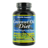 Coconut Oil Diet 120 sGels, Health Support