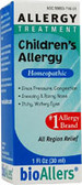 bioAllers Children's Allergy Relief 1 oz, Natra Bio