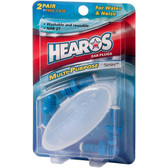 Ear Plugs Multi-Purpose Series 2 Pair + Free Case, Hearos