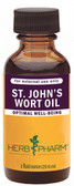 St. John's Wort Oil 1 oz (29.6 ml), Herb Pharm
