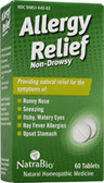 Allergy Relief 60 Tabs, Natra Bio, Hay Fever Allergies