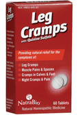Leg Cramps 60 Tabs Natra Bio, Pains & Spasms