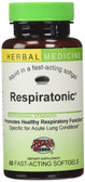 Respiratonic Alcohol Free 60 Fast-Acting sGels, Herbs Etc.