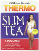 Thermo Slim Tea Fat Burner Formula Cinnamon 24 Tea Bags 1.69 oz (48 g), Hobe Labs