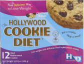 The Hollywood Cookie Diet Oatmeal Raisin 12 Meal Replacement Cookies, Hollywood Diet