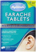 Earache Tabs 40 Quick-Dissolving Tabs Hylands, Allergy, Pain