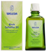 Birch Cellulite Oil 3.4 oz Weleda Skin Care, Improves Skin Tone