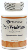 Poly VytaMyns Multi-Vitamins & Minerals 90 Caps, InterPlexus