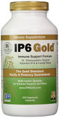 IP6 Gold Immune Support Formula 240 Veggie Caps, IP-6 International