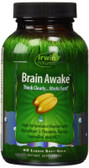 Brain Awake 60 Liquid Soft-Gels, Irwin Naturals