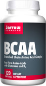 BCAA Branched Chain Amino Acid Complex 120 Caps, Jarrow
