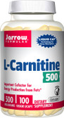L-Carnitine 500 mg 100 Licaps, Jarrow