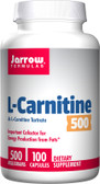 L-Carnitine 500 500 mg 100 Caps, Jarrow