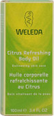 Citrus Body Oil 4 oz, Weleda, Dry Skin, Skin Care