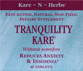 Withania Somniferam Tranquility Kare 40 Tabs, Kare n Herbs