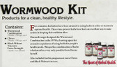 Wormwood Kit 5 Piece Kit, Kroeger Herb Co, Gout, IBS, Parasites