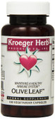 Olive Leaf 100 Veggie Caps, Kroeger Herb Co