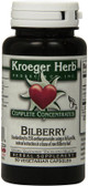 Bilberry 90 Veggie Caps, Kroeger Herb Co