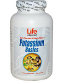 Potassium Basics 240Caps, Life Enhancement