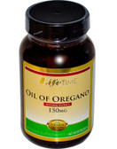 Oil of Oregano 150 mg 60 sGels, Life Time