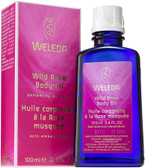 Wild Rose Body Oil 3.4 oz, Weleda