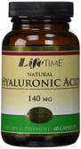 Natural Hyaluronic Acid 140mg 60 Caps, Life Time