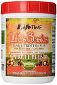 Life's Basics Plant Protein Mix with 5-Fruit Blend 20.69 oz (586.5 g), Life Time