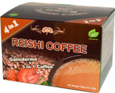 Reishi Coffee 10 Sachets (18 g) Each, Longreen Corporation