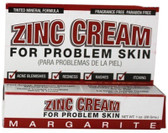 Zinc Cream For Problem Skin 1 oz (28 g), Margarite Cosmetics