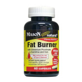 Fat Burner with Chromium Picolinate L-Carnitine and Iron 60 Caps, Mason Vitamins