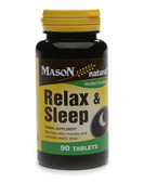 Relax & Sleep 90 Tabs, Mason Vitamins