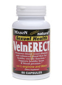 Vein Erect with L-Arginine and Maca 80 Caps, Mason Vitamins