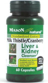 Milk Thistle/Cranberry Liver & Kidney Cleanser 60 Caps Mason Vitamins