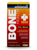 Redd Remedies Bone Health Advanced + K2 & Boron 120 Veggie Caps, Membrell