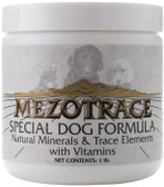 Special Dog Formula Natural Minerals & Trace Elements with Vitamins 1 lb, Mezotrace